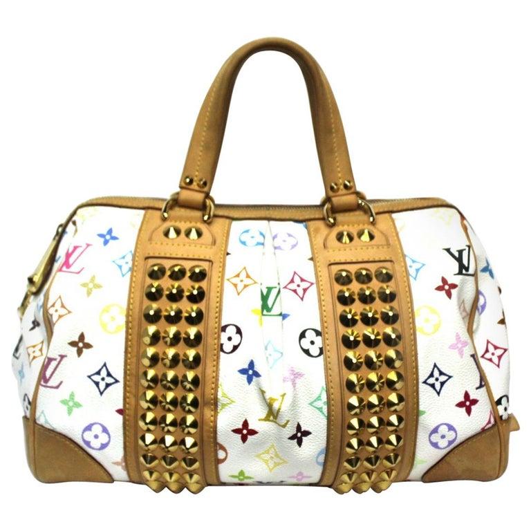 2009 Louis Vuitton Multicolor Courtney Bag For Sale