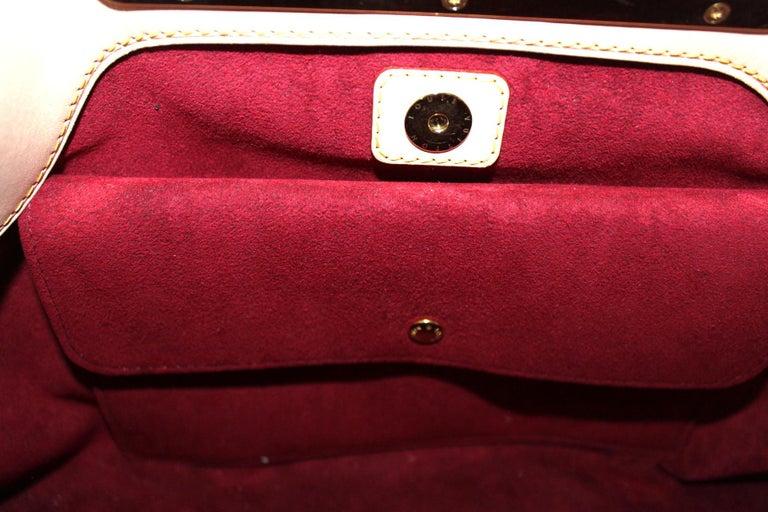 Women's 2009 Louis Vuitton Multicolor Leather Judy Bag For Sale