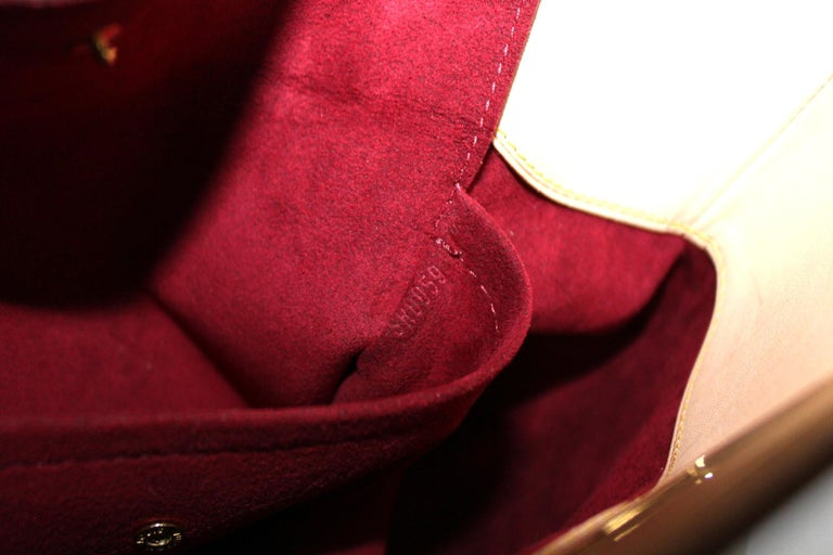 2009 Louis Vuitton Multicolor Leather Judy Bag For Sale 2