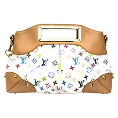 2009 Louis Vuitton Multicolor Leather Judy Bag