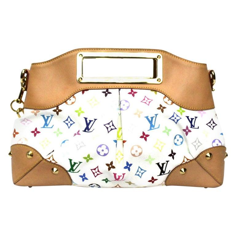 2009 Louis Vuitton Multicolor Leather Judy Bag For Sale