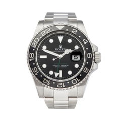 2009 Rolex GMT-Master II Stainless Steel 116710LN Wristwatch