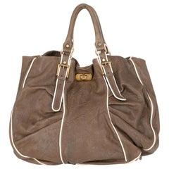 2009s Marni Leather Tote Bag