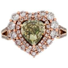 2.01 Carat Diamond GIA Certified Diamond Ring