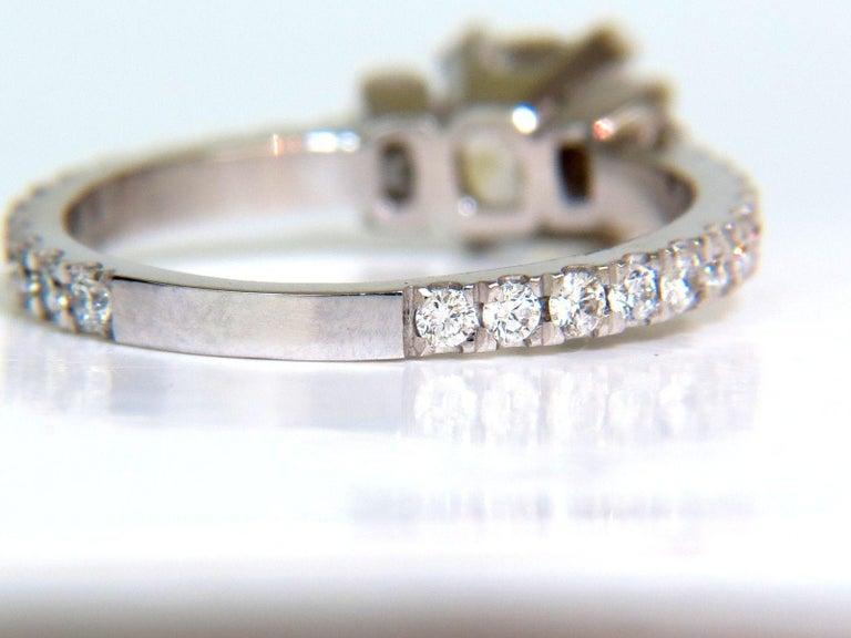 2.01 Carat GIA Cushion Cut Diamond Ring Platinum For Sale 3