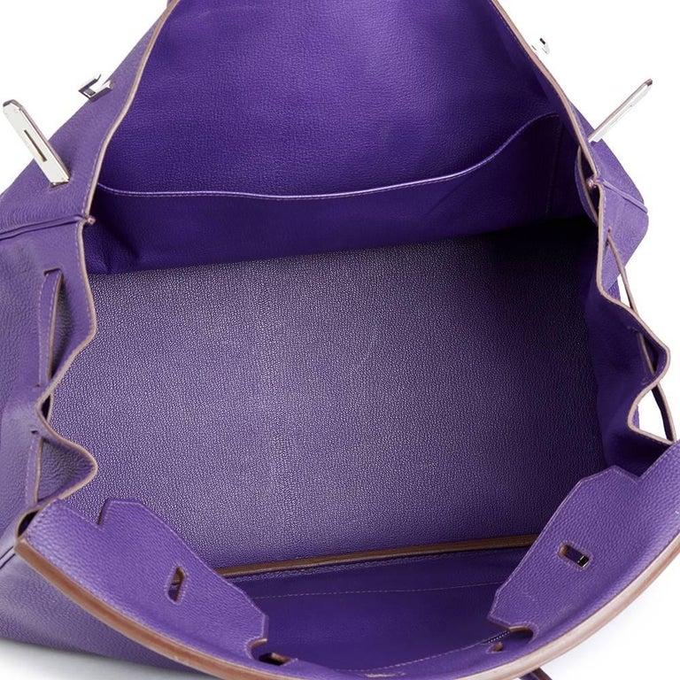 1baa291609 2010 Hermes Iris Togo Leather Birkin 40cm at 1stdibs