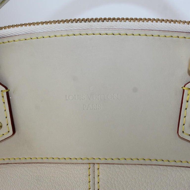 2010 Louis Vuitton White Handbag In Excellent Condition For Sale In Gazzaniga (BG), IT