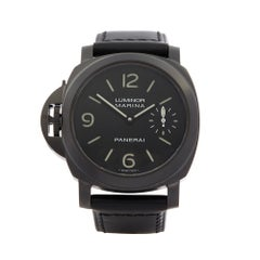 2010 Panerai Luminor Left Handed Stainless Steel PAM00026 Wristwatch