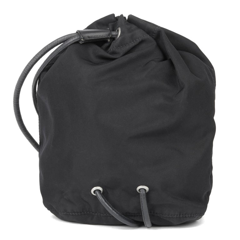 2010 Prada Black Nylon Vintage Mini Backpack 1
