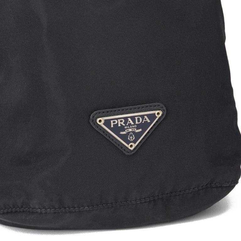 2010 Prada Black Nylon Vintage Mini Backpack 4