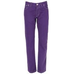 2010s Balenciaga Purple Jeans