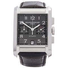 2010s Baume & Mercier Hampton Chronograph Stainless Steel M0A10030 Wristwatch