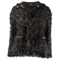 2010s Chanel black Tweed Jacket