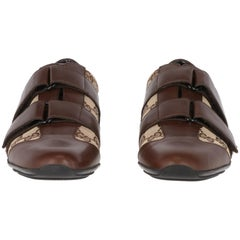 "2010s Gucci ""Lifford"" brown sneakers"