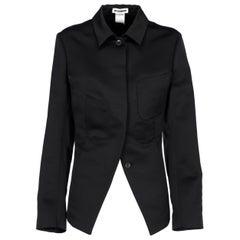 2010s Jil Sander Black Jacket