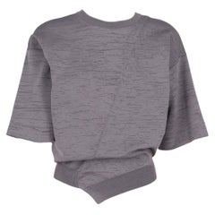 2010s Jil Sander Grey Knitted Top