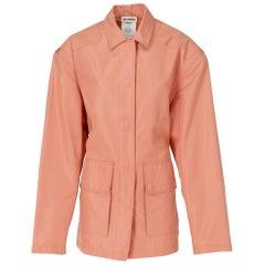 2010s Jil Sander Pink Silk Jacket