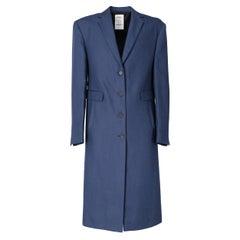 2010s Jil Sander Single-Breasted Overcoat