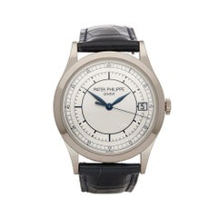 2010s Patek Philippe Calatrava White Gold 5296G/001 Wristwatch
