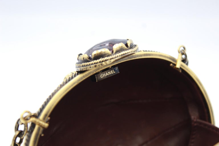 Women's 2011 Chanel Jewel Clutch from Paris - Byzance Metiers d'Art Collection For Sale