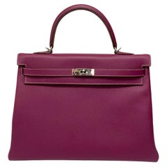 2011 Hermès Tosca Togo Kelly 35 Bag