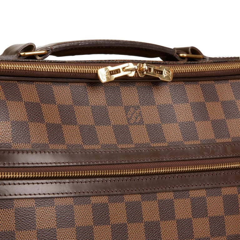 2011 Louis Vuitton Brown Damier Ebene Coated Canvas Sabana Computer Case  For Sale 2 1a4236d8ecb0d