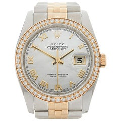 2011 Rolex Datejust Steel & Yellow Gold 116243 Wristwatch