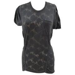2012 Balenciaga with studs t-shirt