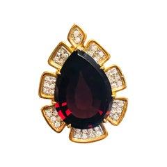 20.12 Carat Exceptional Garnet Pendant