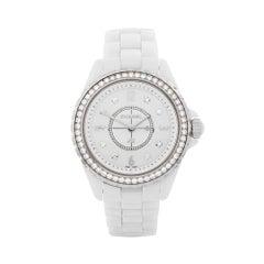 2012 Chanel J12 Ceramic H3110 Wristwatch
