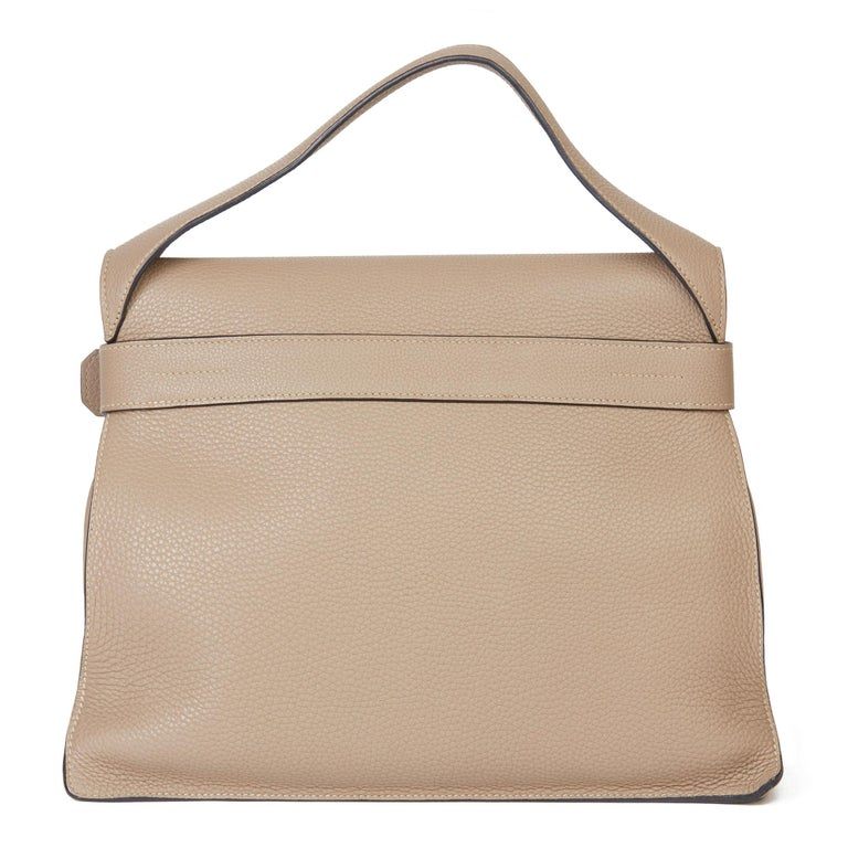 2012 Hermès Etoupe Clemence Leather Etribelt In Excellent Condition For Sale In Bishop's Stortford, Hertfordshire