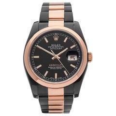 2012 Rolex Datejust Hercules Custom Other 116201 Wristwatch