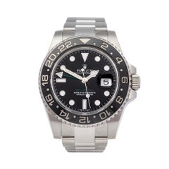 2012 Rolex GMT-Master II Stainless Steel 116710LN Wristwatch