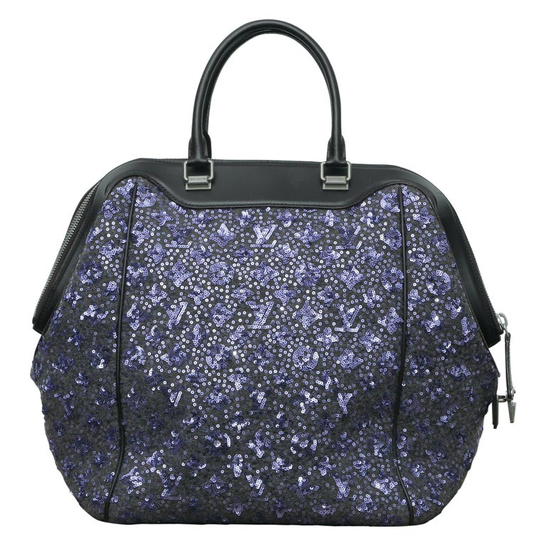 2012s Louis Vuitton Purple North South Bag Limited Edition Sunshine Express For Sale