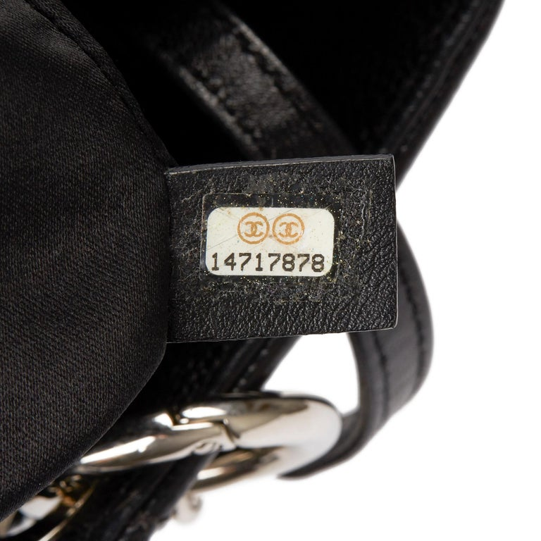 2013 Chanel Black Quilted Caviar Leather Grand Shopping Tote  6
