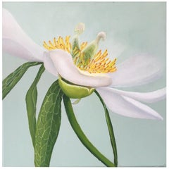 2013 Esther Hansen White Peony, Danish Painting