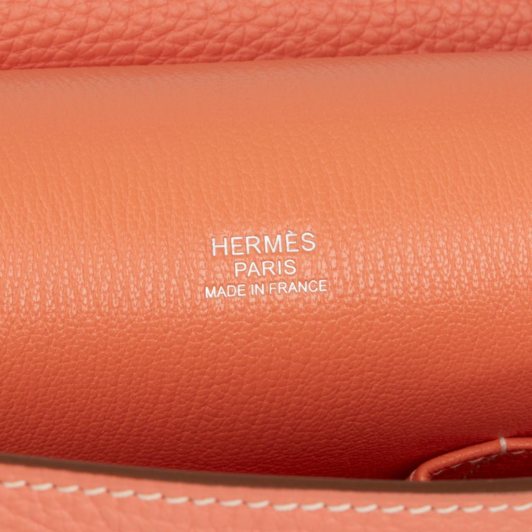 2013 Hermès Crevette Togo Leather Jypsiere 31cm For Sale 3