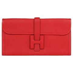 2013 Hermes Rouge Garance Epsom Leather Jige Elan 29