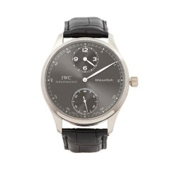 2013 IWC Regulateur White Gold IW544404 Wristwatch