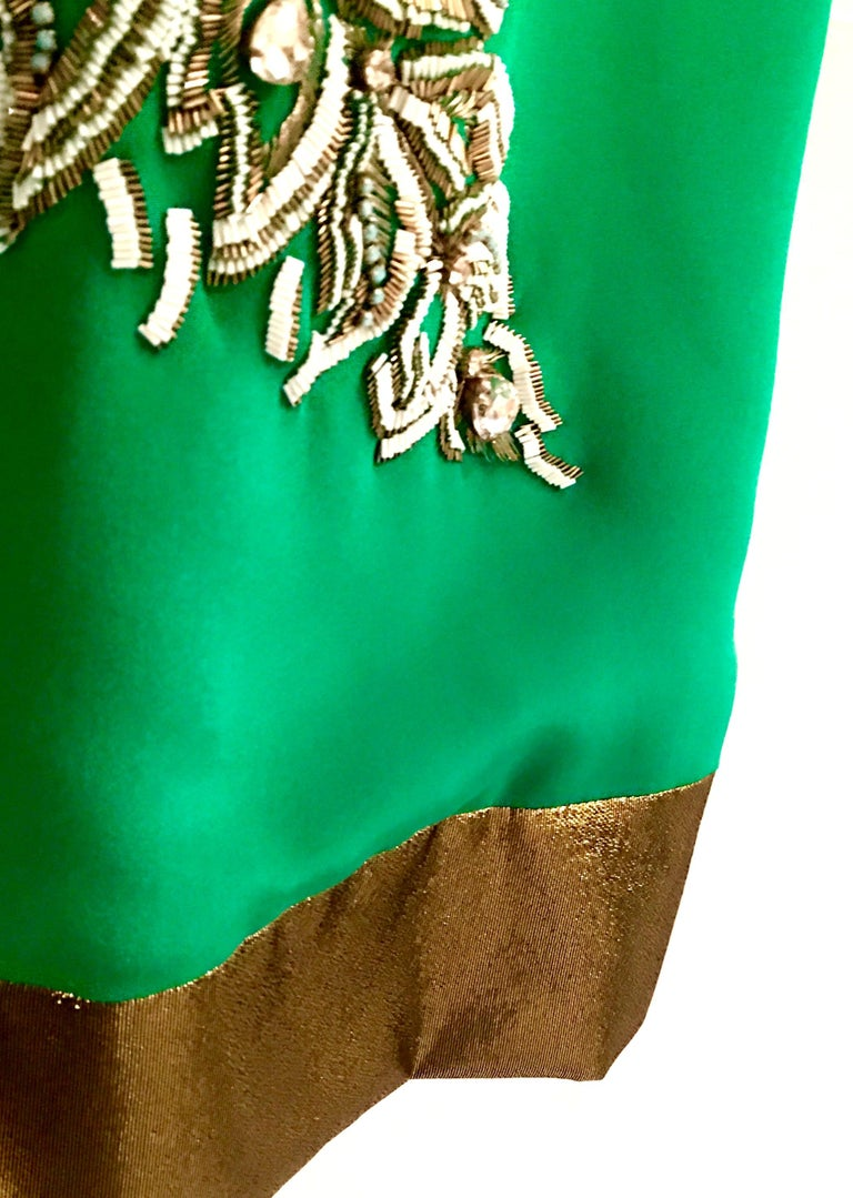 2013 New Runway Hand Beaded Silk Dress By, Thakoon, Italy- Size 6 For Sale 13