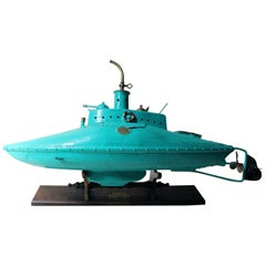 2013 Scratch Built 'Seahorse' Experimental Petrol Submarine; by Tom Petrusson