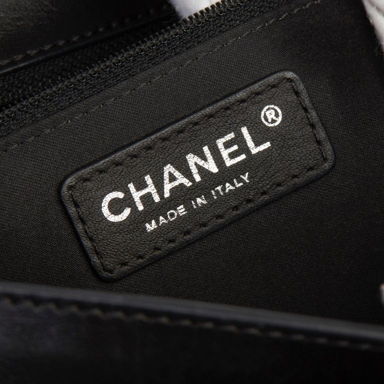 2014 Chanel Black Quilted Lambskin Large Citizen Flap Bag  5