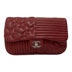 2014 Chanel Bordeaux Leather Jumbo Bag