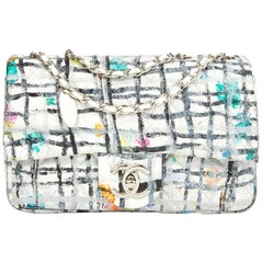 2014 Chanel Multicolour Hand-painted Quilted Lambskin Graffiti Mini Flap Bag