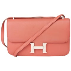 2014 Hermès Flamingo Epsom Leather Constance Elan