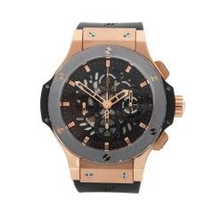 2014 Hublot Big Bang Chronograph Rose Gold 310.PT.1180.LX Wristwatch