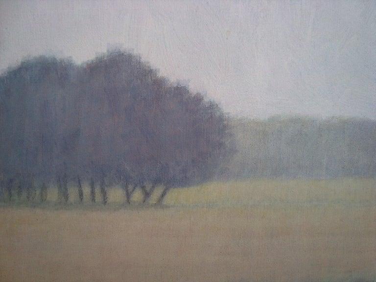 Arts and Crafts 2015 Bjarne Dahl Misty Landscape For Sale