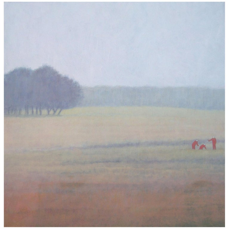 2015 Bjarne Dahl Misty Landscape For Sale
