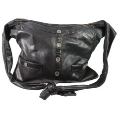 "2015 Chanel Black  Messenger GM ""Girl"" Bag"