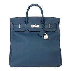 2015 Hermès Bleu de Prusse Togo Leather Birkin 40cm HAC